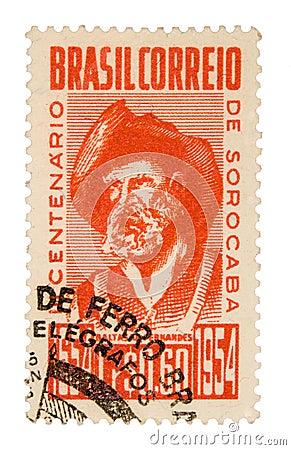 Vintage Brazil Postage Stamp