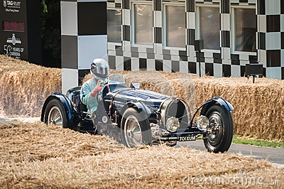 Vintage Bugatti Editorial Image