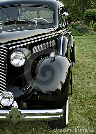 Vintage Buick Front Side View