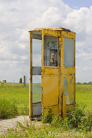 Free Vintage Call-box Stock Images - 920404
