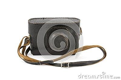 Vintage Camera in Carry-Case