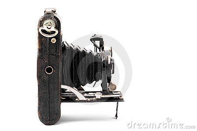 Vintage camera from forties