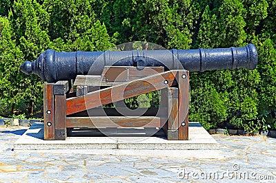 Vintage cannon gun