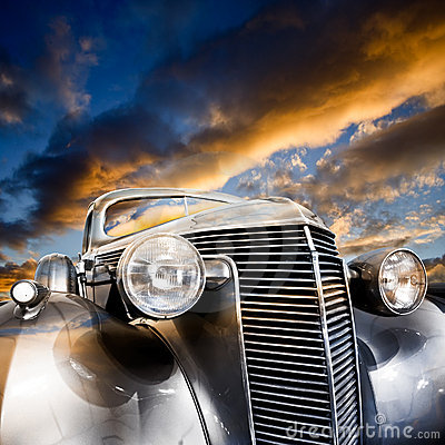 Free Vintage Car Royalty Free Stock Image - 7849086