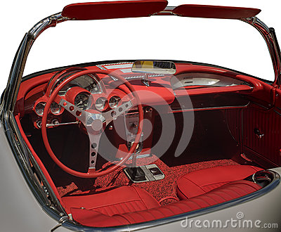 vintage car interior stock photo image 42659392. Black Bedroom Furniture Sets. Home Design Ideas
