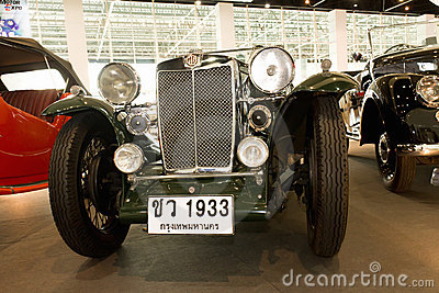 Vintage car MG Magna L1, Year 1933 Editorial Photography