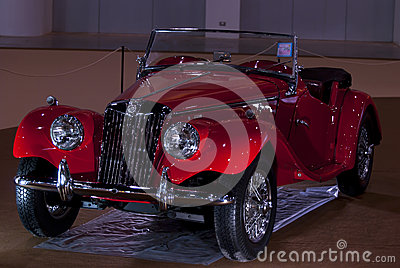 Vintage car MG TF Editorial Image