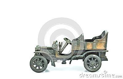 Vintage car models.