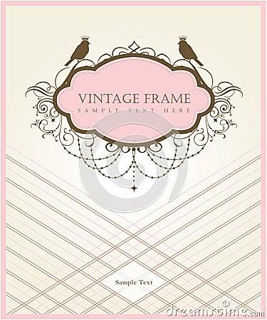 Free Vintage Card Design Stock Images - 17692174