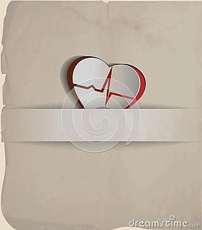 Vintage cardiogram