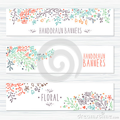 Free Vintage Cards With Flower Patterns And Floral Royalty Free Stock Images - 56374779