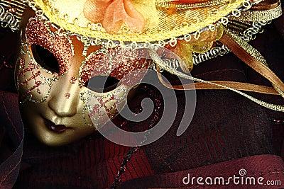 Vintage carnival mask