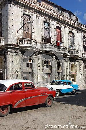Vintage cars, Havana, Cuba