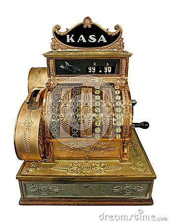 Free Vintage Cash-desk Stock Image - 13472381