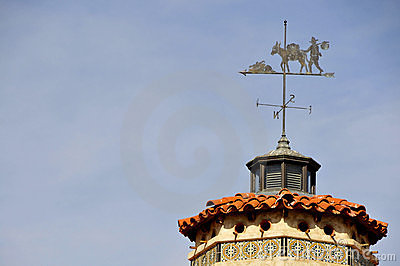 Vintage Castle Weathervane