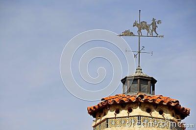 Vintage Castle Weathervane