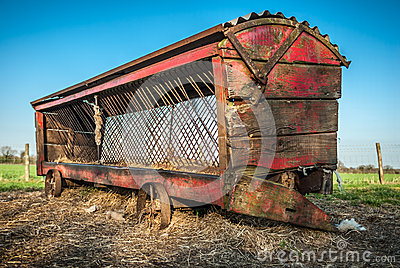 Vintage Cattle Feeder