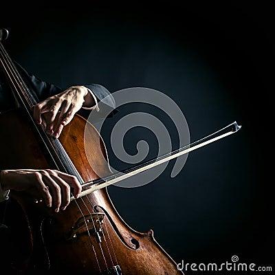 Free Vintage Cello Stock Photo - 42813770