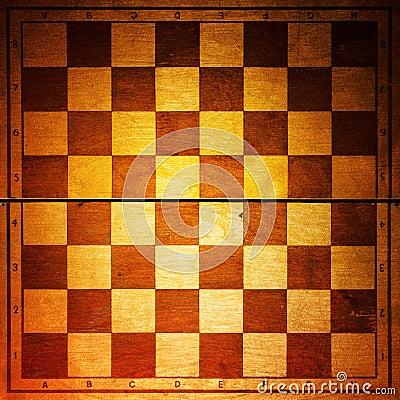 Vintage chessboard