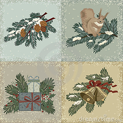 Vintage christmas cards