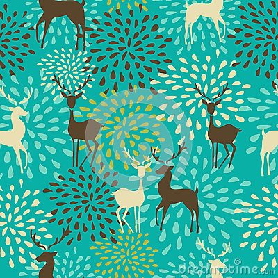 Free Vintage Christmas Elements Seamless Pattern Backgr Royalty Free Stock Photos - 33756638