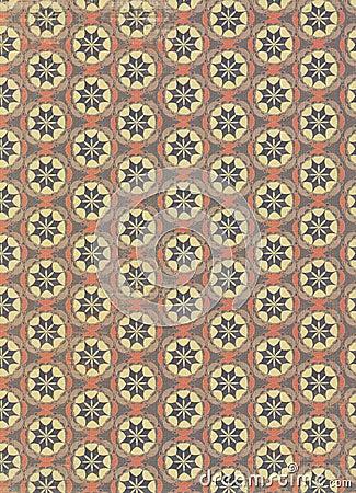 Vintage circles pattern