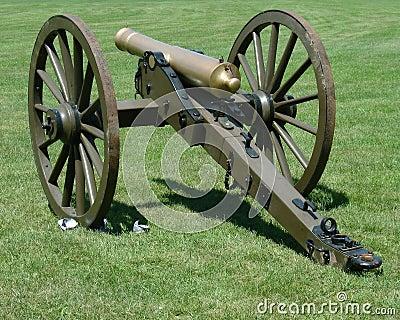 Vintage civil war canon two