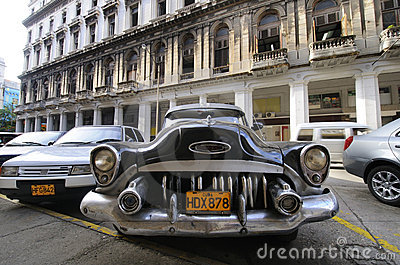 Vintage Classic American Car. 9 JULY, 2010. Royalty Free Stock Image - Image: 15899646
