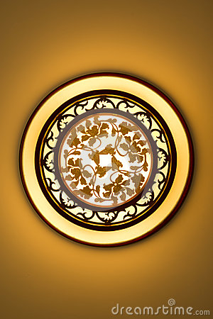 Free Vintage Classic Light Ceiling Lamp Stock Images - 45992344