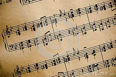 Vintage Classical Music Score