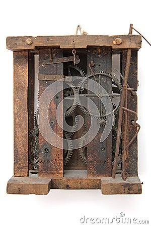 Vintage clock mechanics