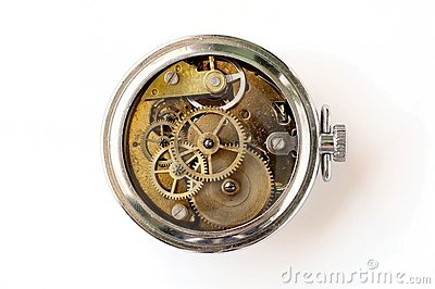 Vintage clockwork