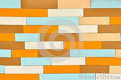 Vintage color wood background
