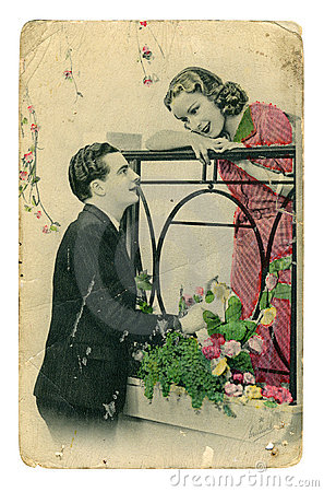 Vintage colorful photo Editorial Photo