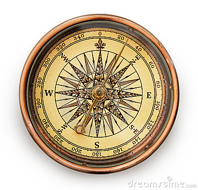 Free Vintage Compass Royalty Free Stock Photo - 6935385