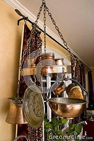 Vintage Copper Kitchenware