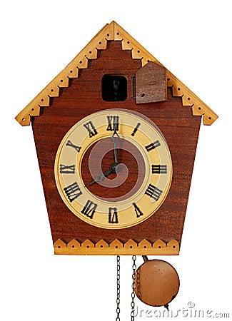 Vintage Cuckoo Clock Stock Photos Image 13073673