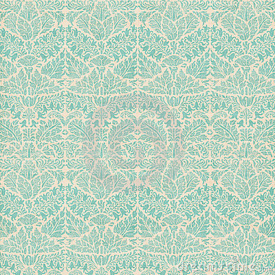 Free Vintage Damask Scrapbook Background Pattern Royalty Free Stock Images - 17296339