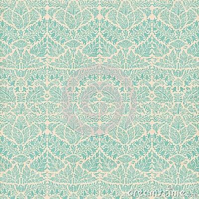 Free Vintage Damask Scrapbook Background Pattern Royalty Free Stock Images - 17296339