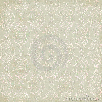 Free Vintage Damask Wallpaper Stock Photography - 4339032
