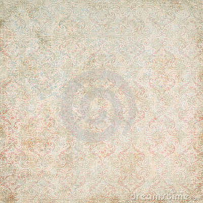 Free Vintage Damask Wallpaper Stock Photography - 4343922