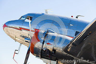 Vintage DC-3 Airplane