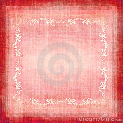 Vintage Decorative Fabric Grunge