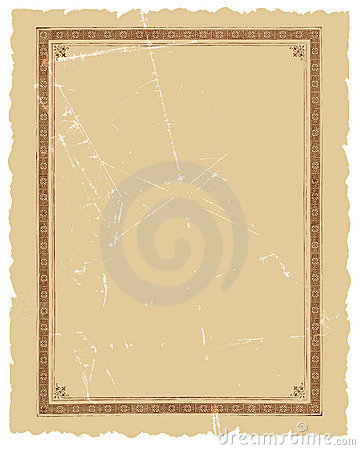 Vintage Decorative Frame Vector Background Design
