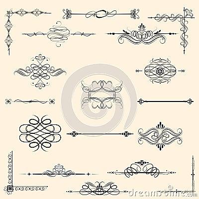 Vintage Design Element