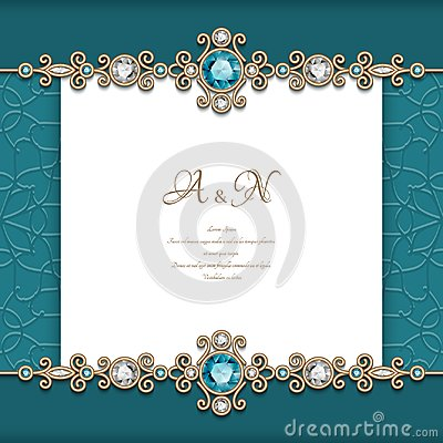 Free Vintage Diamond Jewelry Background Stock Image - 109141481