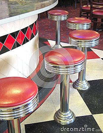 Free Vintage Diner Stock Image - 4066791