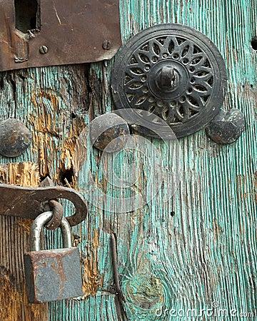 Free Vintage Door Lock Royalty Free Stock Images - 1499509