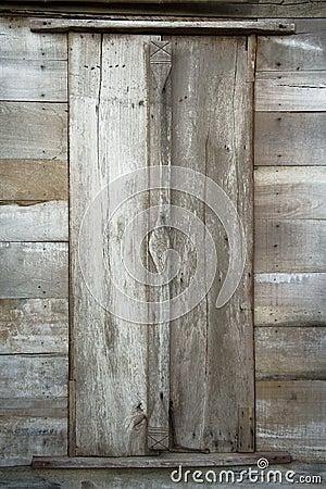Vintage door wood