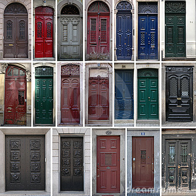 Free Vintage Doors Royalty Free Stock Photo - 8860925